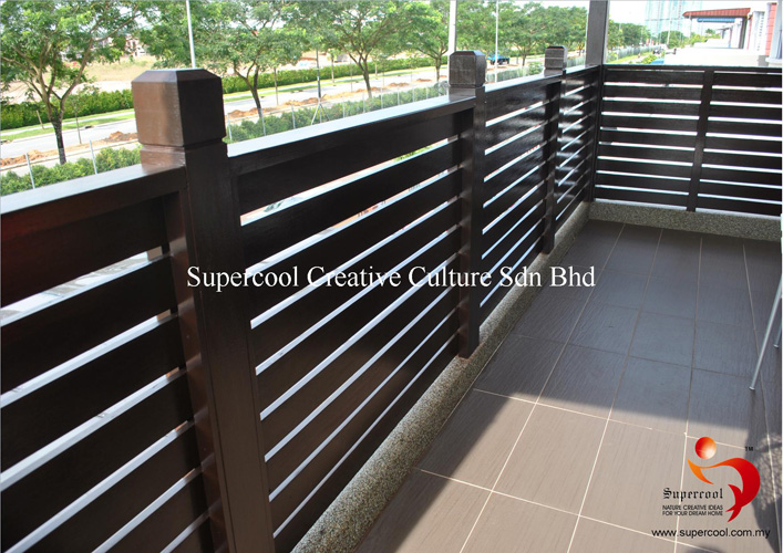 Timber Gate | Railing | Fencing Manufacturer | Supplier Malaysia