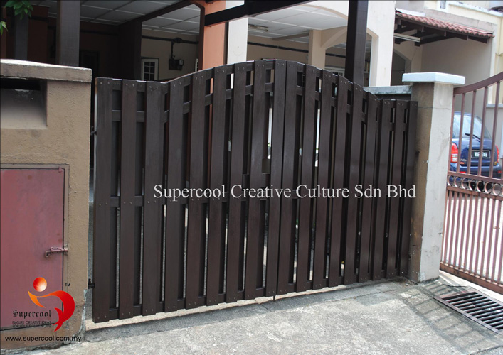 Tgrf 16 Timber Gate Railing Fencing Malaysia